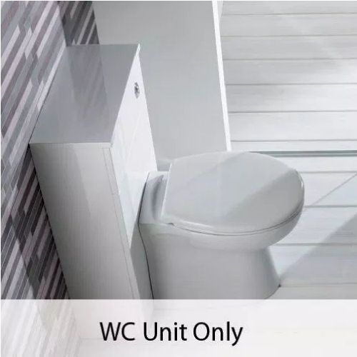 Eastbrook Oslo Floor Standing Wc Unit - White